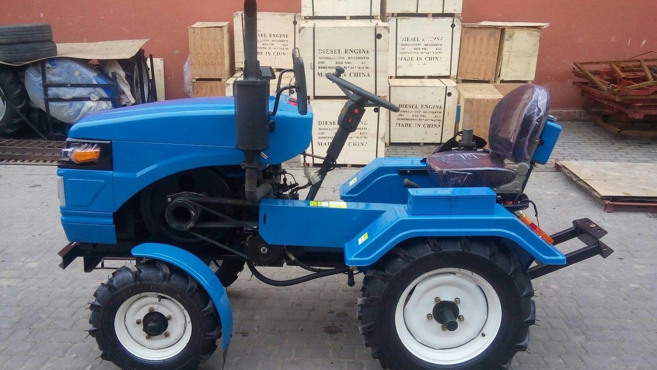 Украина Міні-трактор Lider 180 LUX +тракторна фреза + безкоштовна дост