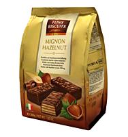 Вафли в шоколаде с ореховым кремом MIGNON Австрия 200г