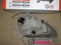 Фара ГАЗ 3302 (капля) нового образца левая (пластик, с ДХО)  2171.3711