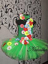 """Карнавальний костюм, юбка-платье из фатина  """"ВЕСНА"""", фото 3"""