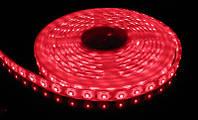 Лента светодиодная красная LED 3528 Red 60RW - 5 метров в силиконе