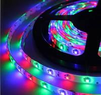 Лента светодиодная разноцветная LED 3528 RGB 60RW - 5 метров в силиконе!Акция