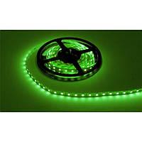 Лента светодиодная зеленая LED 3528 Green 60RW - 5 метров в силиконе