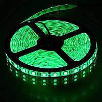 Лента зеленая светодиодная 300 SMD5050 Green - 5 метров в Силиконе!Акция