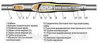 Муфта соединительная 1ПСТ 10-(150-240), муфта кабельная термоусаживаемая соединительная