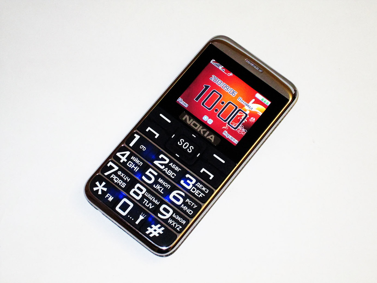 """Телефон Nokia A900 БАБУШКОФОН - 2Sim+2""""+Фонарик-2000mAh"""