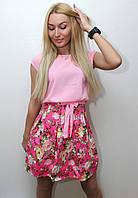 Платье женское с поясом арт.411, фото 1