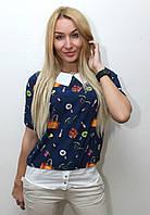 Блуза женская модная с рисунком арт.406, фото 1