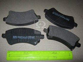 Колодки тормозные ТОЙОТА COROLLA передние (производство  Intelli)  D201E