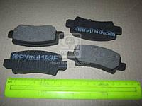 Колодка тормозной TOYOTA COROLLA задней (Производство Intelli) D489E