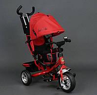 Трехколёсный детский велосипед Best Trike 6588 красный