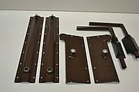 Механизм  для шкаф-кровати (без газ лифтов)коричневый