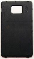 Задняя крышка батареи для мобильного телефона Samsung I9100 Galaxy S2, черная