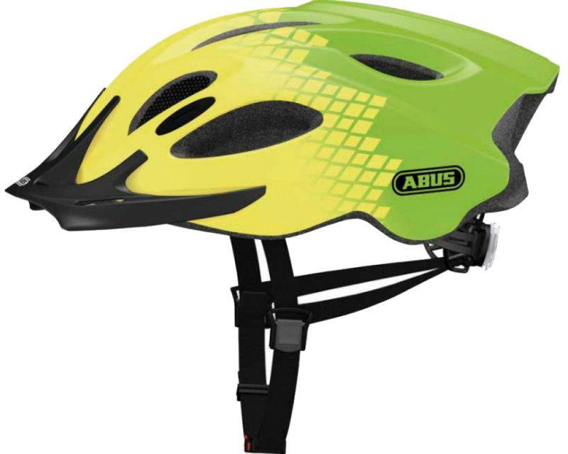 Велошолом ABUS ADURO Diamond Green (M)