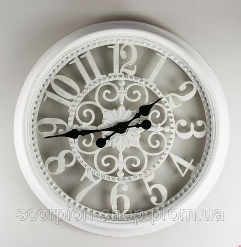 Часы настенные круглые (51 см) 070A/white