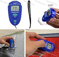 Толщиномер лакокрасочных покрытий Allosun EM2271 (автомобильный измеритель толщины краски)