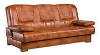 Прямой кожаный диван Finka