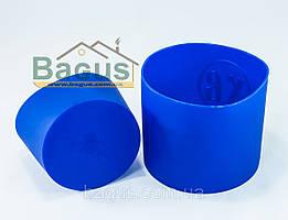 Набор силиконовых форм для выпечки пасок (2 шт./наб.) СИНИЙ Stenson (MH-0463-3)