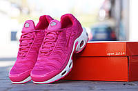 Кроссовки женские Nike 95 TN розовые (Реплика ААА+), фото 1