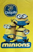 Полотенце пляжное махра-велюр 75х150 Minions Chiquita