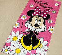 Полотенце пляжное махра-велюр 75х150 Minni Mouse-3