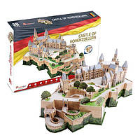 Трехмерная головоломка-конструктор Замок Гогенцоллерн, CubicFun (MC232h)