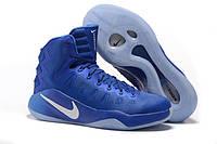 Баскетбольные кроссовки Nike Zoom Hiperrev 2016 Blue