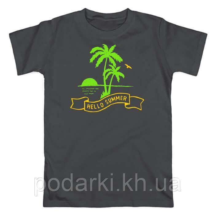 Летняя футболка для парня