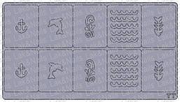 Трафареты для аэрографии на ногтях, Т7