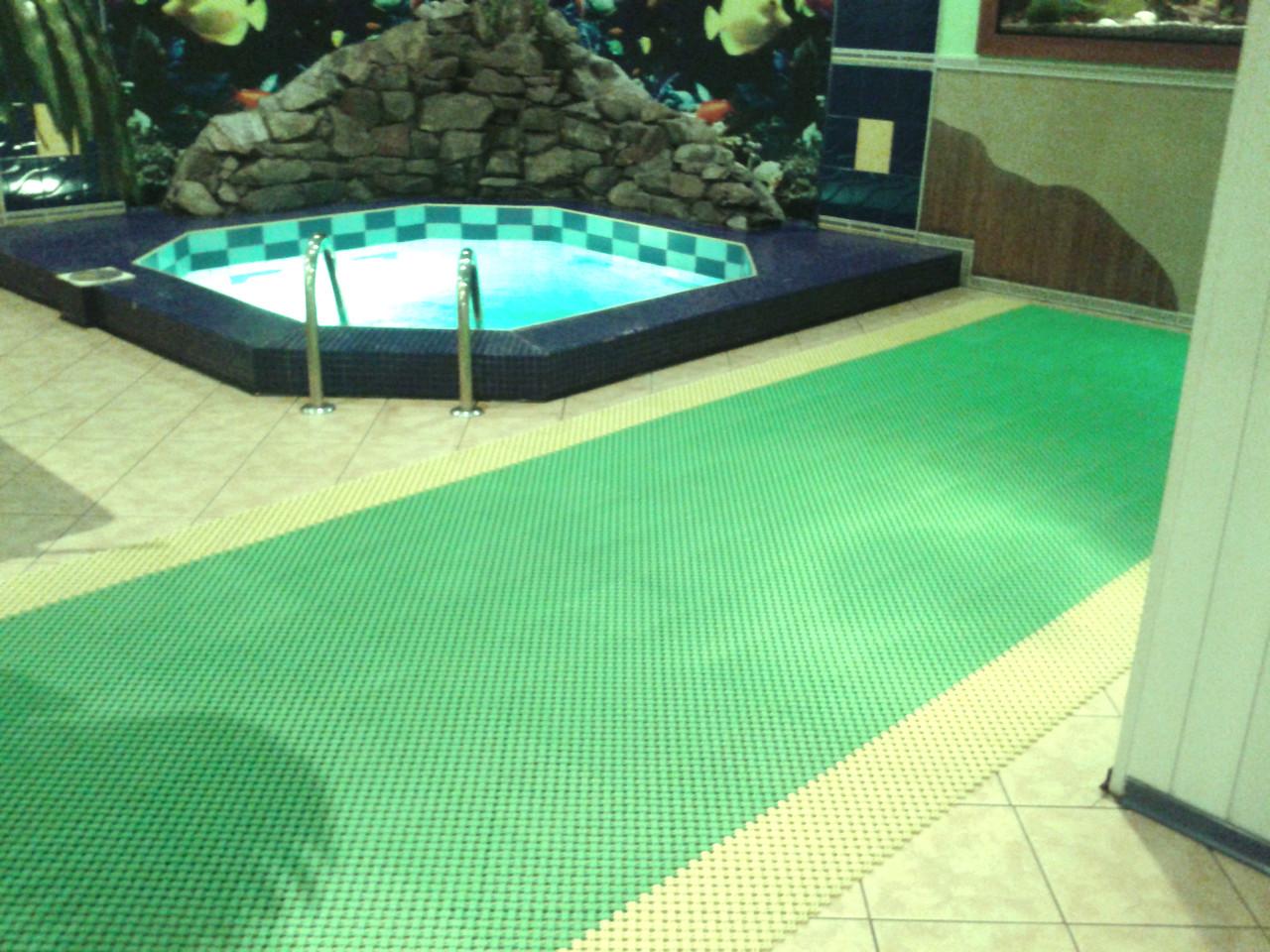 Антискользящее покрытие ЛАГУНА для бассейнов