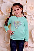 Детский свитшот Бриллиант Мята, 1-2-3 года