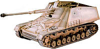 "Revell  Самоход.лафет на шасси брон.боевой машины Sd.Kfz. 164 ""Nashorn"" Tankhunter (03148)"