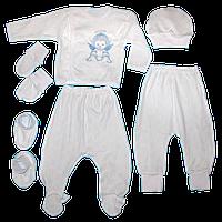 Комплект для новорожденных из шести предметов 20 размер