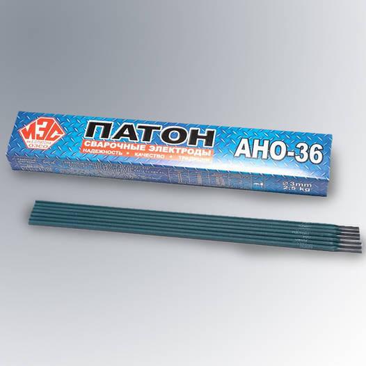 Электроды АНО-36 Патон Ф3.0 (5кг)