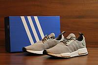 Кроссовки мужские сетка Adidas NMD - Grey (адидас нмд - серый, реплика) (реплика), фото 1