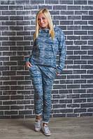 Трикотажный спортивный женский костюм  р-42-54