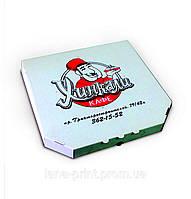 Коробка для пиццу 30 см с печатью изображения