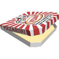 Коробка для пиццу 40 см с печатью изображения