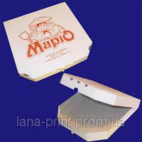 Коробка для пиццы 25 см с печатью изображения