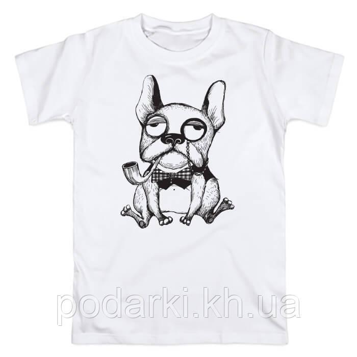 """Стильная футболка для парня """"Француз"""""""