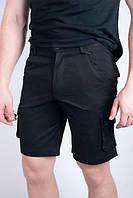 Шорты мужские с карманами 1302 (Черный)