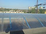 Сотовый поликарбонат Novattro 10 мм, прозрачный, фото 2
