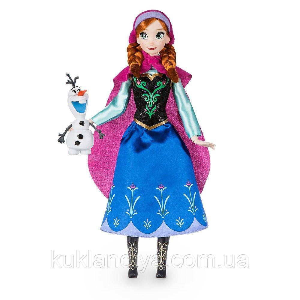 Кукла Анна с Олафом Холодное сердце Дисней - Anna Classic Doll - Frozen