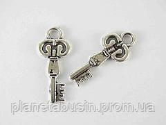 Кулон Ключ, размер 13х30мм