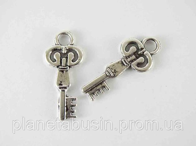 Кулон Ключ, размер 13х30мм, фото 2