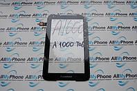 Сенсорный экран для планшета Lenovo A1000 черного цвета