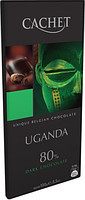 Шоколад Cachet UGANDA 80% какао Бельгия 100г