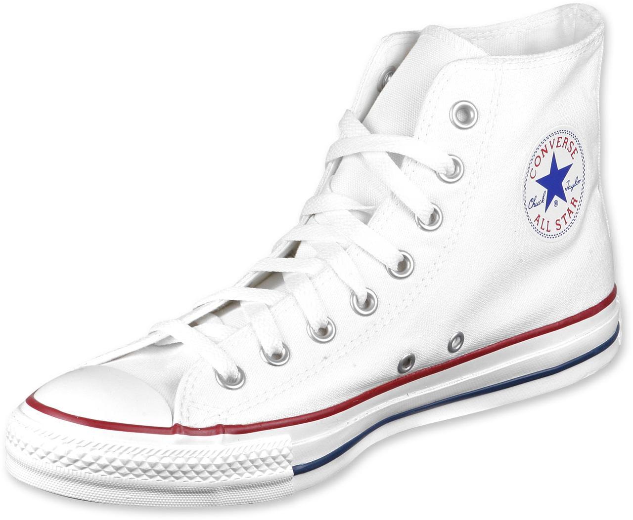 ed96ca9f2e33 Конверс высокие белые кеды Converse High White All Star Chuck Taylor  подростковые женские, ...