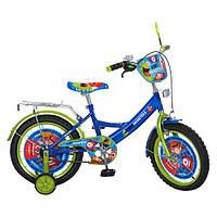 Велосипед детский двухколесный PROF1 МУЛЬТ 16 дюймов. PM1644