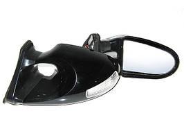 Зеркала наружные 3288 Black с указ.поворотов и габаритом (пара)